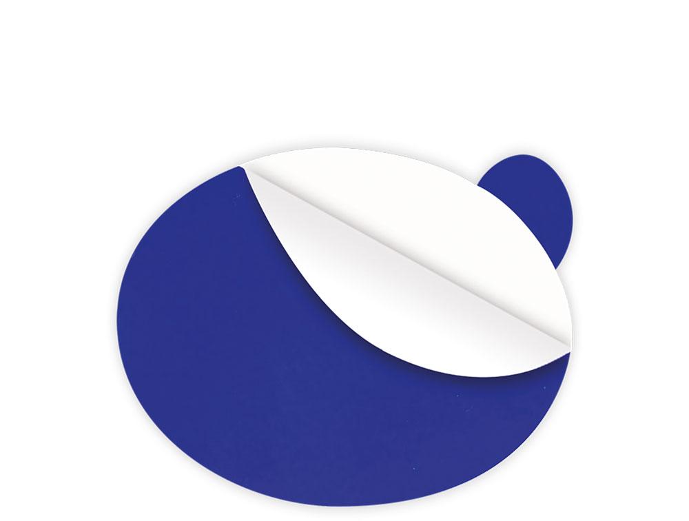 Kleiner ovaler Blasenstopper